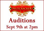 Nutcrakcer Auditions