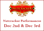 OCBT Nutcracker Performances – 2017